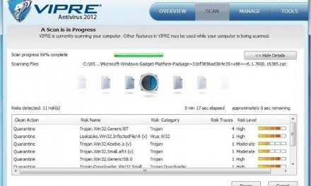 Technology Review: VIPRE Antivirus 2012