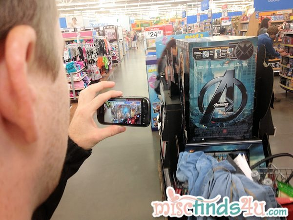 Walmart and The Avengers Augmented Reality App Experience in Stores Now