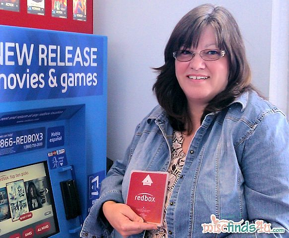 "Me and my first Redbox Film - ""Katy Perry: Part of Me"""