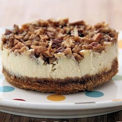 Apple Pecan Cheesecake by Baked by Rachel