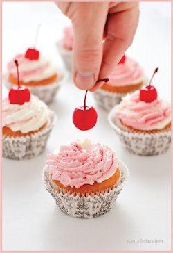 Cheery Cherry Cupcakes Recipe