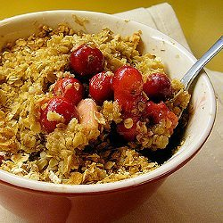 Cranberry-Apple Crisp by Cranberry Festivals