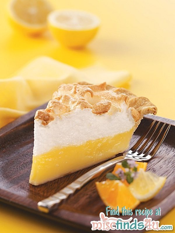 Florida Citrus Meringue Pie Recipe