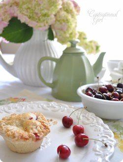 Mini Cherry Almond Pies Recipe