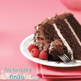 Rasberry Chocolate Mocha Cake with Chocolate Cream Cheese Frosting Recipe