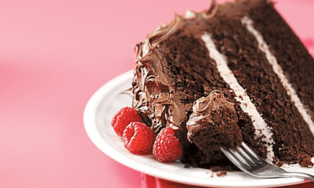 Buttermilk  Mocha Raspberry Chocolate Cake Recipe