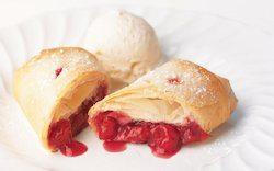 Sour Cherry Strudel Recipe by Diana's Desserts