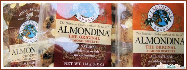 ALMONDINA The Original Almond Biscuits - the low calorie all natural treat