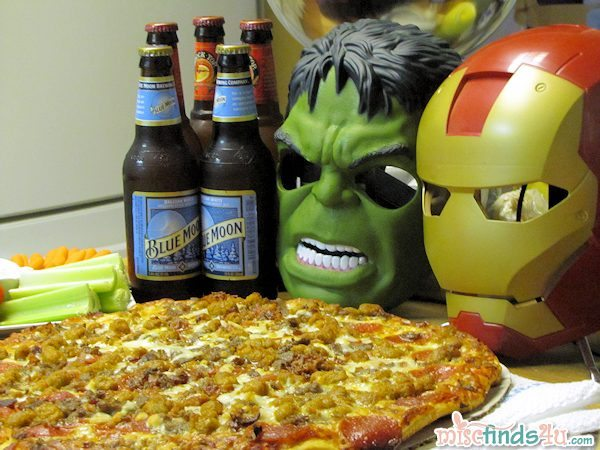 #cbias Pizza, beer, fun, family, friends, and a great movie = a fabulous evening!