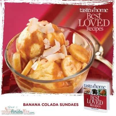 Banana Colada Sundaes Recipe