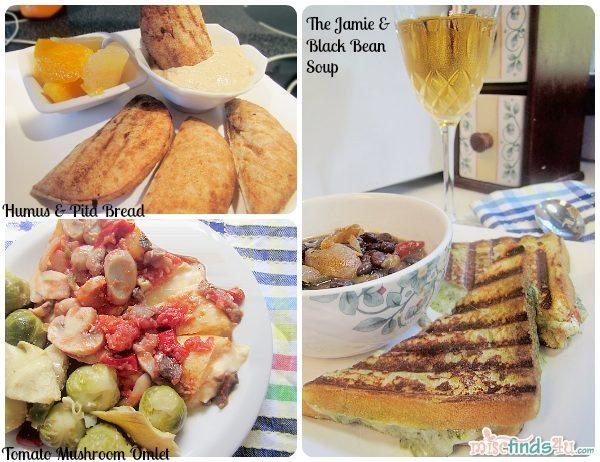 Sample Diet-to-Go Vegetarian Meals