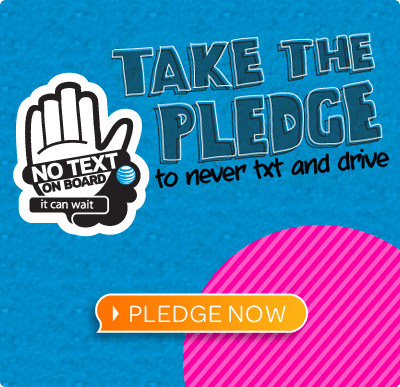 ItCanWait.org - Pledge to quit texting and driving.