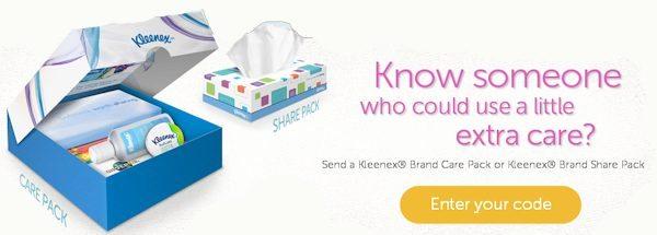 Kleenex Cares Initiative Details #KleenexCares