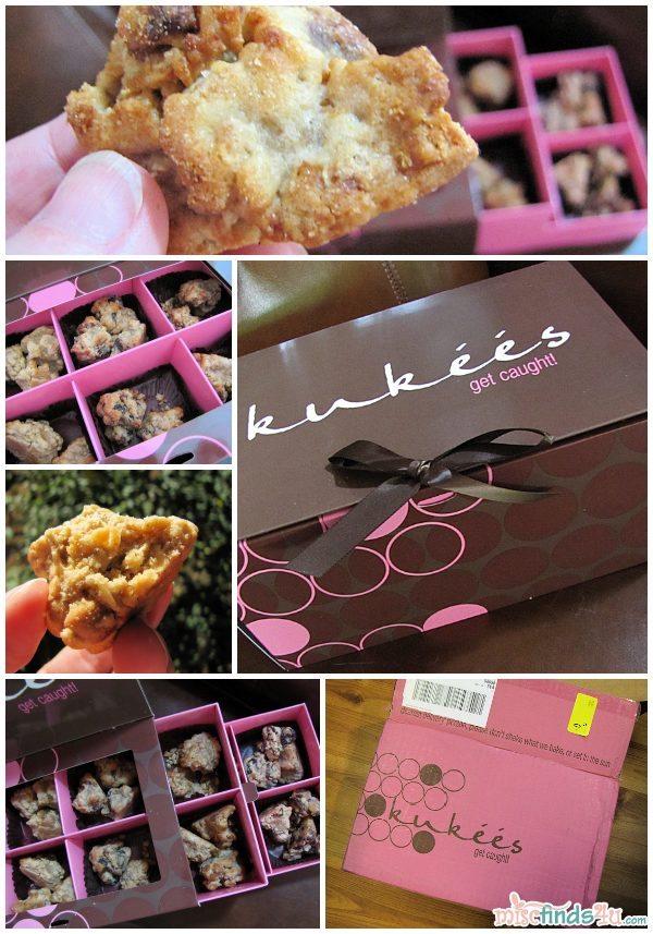 kukees Biti-Bites Box - 36 cookies in 6 flavors!