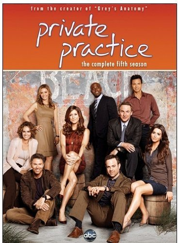 Private Practice Season 5 on DVD 9/11/12