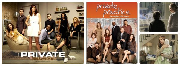 ABC's Private Practice on DVD