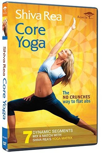 Shiva Rea: Core Yoga Exercise DVD Review – No Crunches Way to Flat Abs