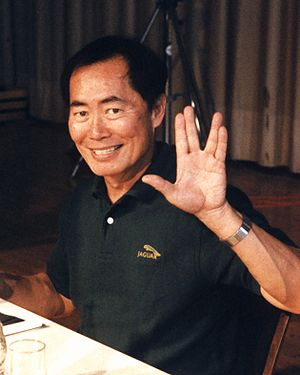 English: American actor George Takei at the St...