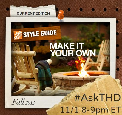 Ask the Home Depot Twitter Event