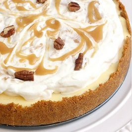 Caramel Apple and Pecan Cheesecake Pie Recipe