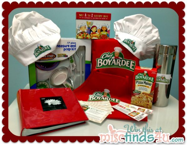 Chef Boyardee Giveaway Prize Pack
