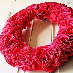 Easy Felt Wreath Tutorial by the Abut Family
