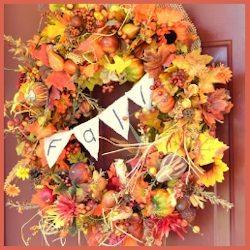 Fall Explosion DIY Wreath