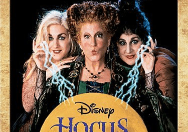 Blu-Ray Movies: HOCUS POCUS Family Fun Movie For Halloween!