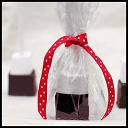 Homemade Hot Chocolate and Marshmallow on a Stick - the best gifts from the kitchen