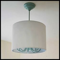 Ugly Hanging Lamp Turned Into Contemporary Light Fixture