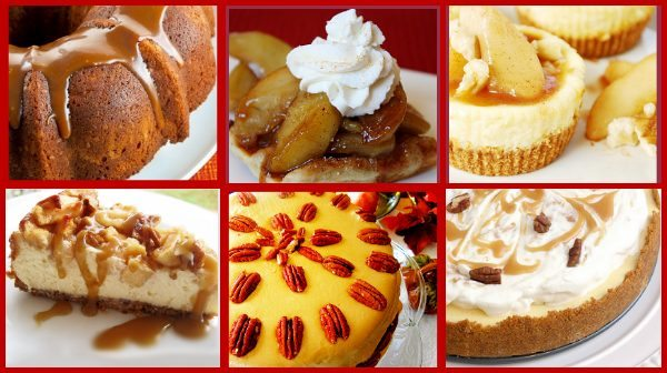 Caramel Apple Recipes - Pie, Cake, and More