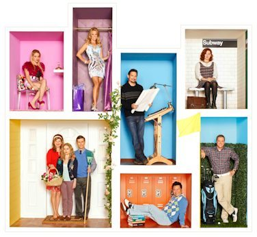 Cast of ABC's Suburgatory #suburgatory