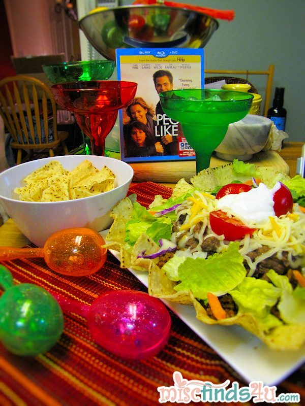Taco Salad and skinny margaritas - date night with People Like Us film