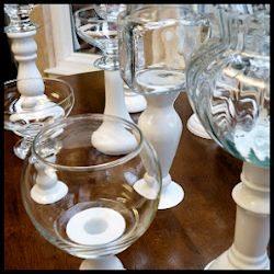 DIY Glass Candy Jar Tutorial