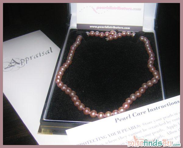 Freshwater Lavender Pearls