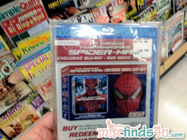 Pre-order THE AMAZING SPIDER-MAN Movie Walmart Exclusives #SpiderManWMT