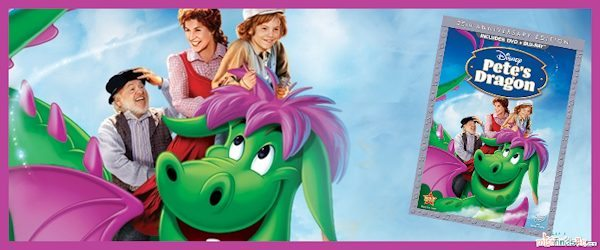 Disney's Pete's Dragon 35th Anniversary Blu-Ray Release