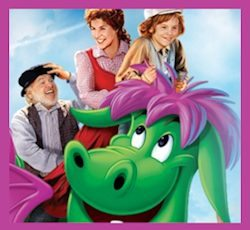 Disney's 35th Anniversary PETE'S DRAGON Movie on Blu-Ray