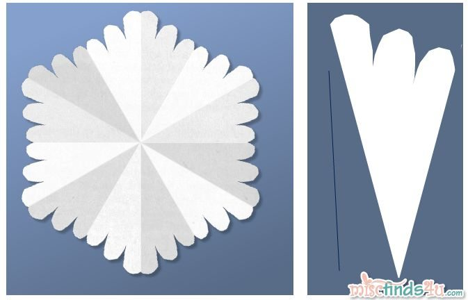 Virtual Snowflake Creator - Cut 1