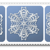 Online Snowflake Creator - any shape you can dream up.