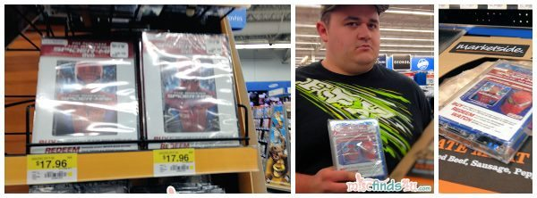 Our shopping trip for The Amazing Spider-Man Walmart Exclusive