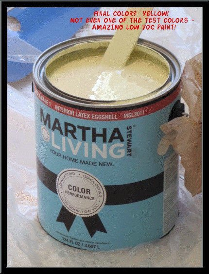 Actual color we chose was Martha Stewart Living Rice Paper