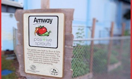 Amway Positive Sprouts Program Benefits Boys and Girls Club of America @BGCA_Clubs