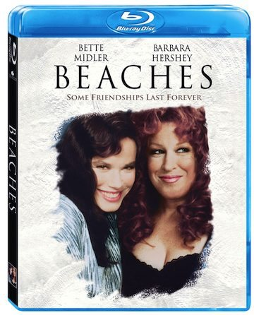Beaches on DVD starring Bette Midler and Barbara Hershey