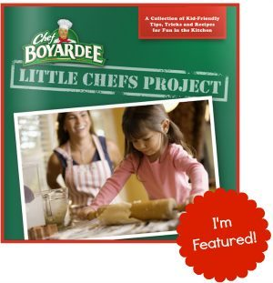 Chef Boyardee Little Chefs free eBook - I'm featured! #littlechefs #chefboyardee