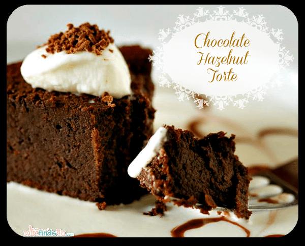 Homemade Chocolate Hazelnut Torte Recipe