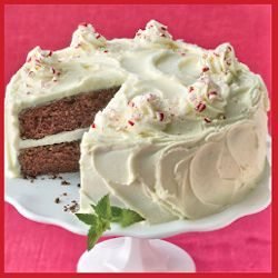 Chocolate Peppermint Layer Cake by Land O Lakes Butter