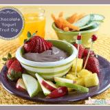Chocolate Yogurt Fruit Dip Recipe - Kid- and Family-Friendly Recipes