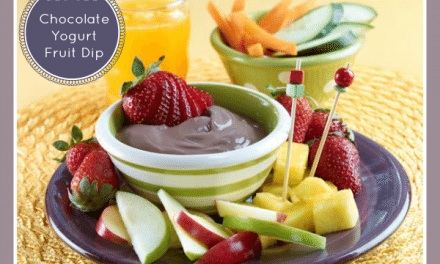 Recipes: Kid-Friendly Fresh Fruit and Chocolate Yogurt Dip Recipe
