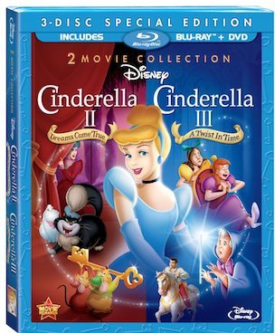 Disney Cinderella II and III new on Blu-ray